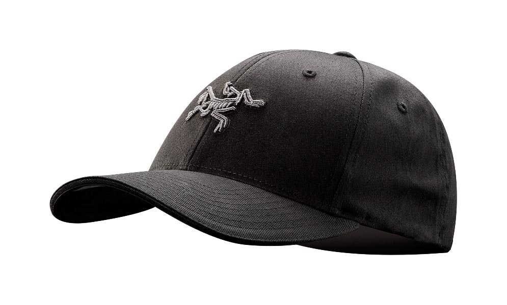 Arcteryx Black Embroidered Bird Cap